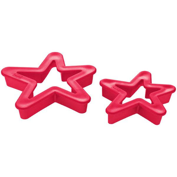 Koziol 2 Orion Stern cookie cutters featuring polyvore, home, kitchen & dining, kitchen gadgets & tools, cookie cutters and koziol