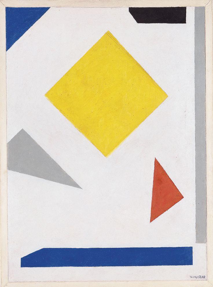 Vilmos Huszár - Composition (De Stijl)(1955)