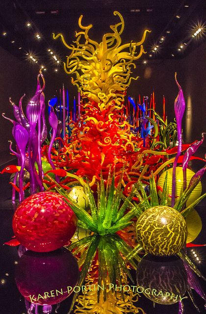 Dale Chihuly Art Glass.