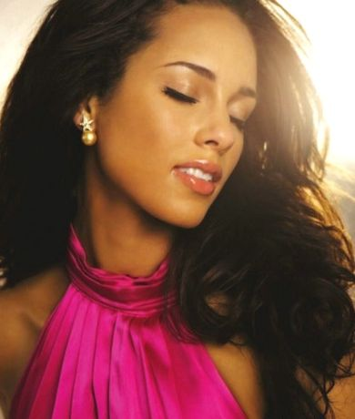 A. Keys. Talented and gorgeous!