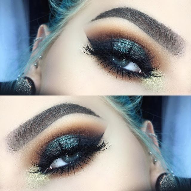 """35.8k Likes, 53 Comments - Lime Crime (@limecrimemakeup) on Instagram: """"Fierce eye look using shades MUSTARD, JAM, MUD, BOOT, PIGEON, and FLY from #VENUS2 by…"""""""