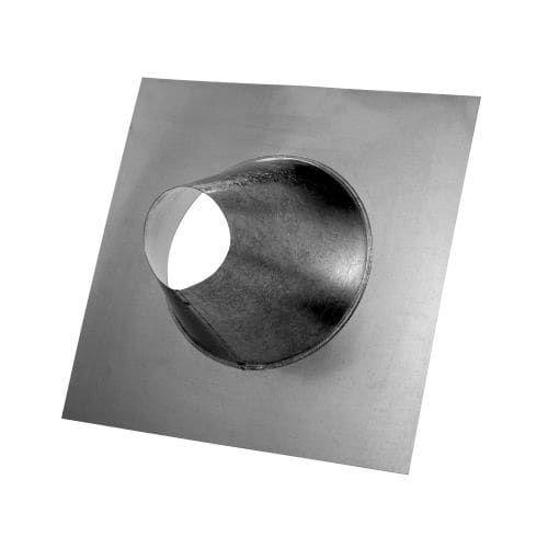 Metalbest 3RV-TFA RV 3 Type B Gas Vent Tall Cone Adjustable Pitch Roof Flashing, Silver aluminum