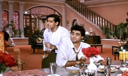 'Dhiktana Dhiktana' Full Song Lyrics from 'Ham Aapke Hain Kaun'   Salman Kingdom