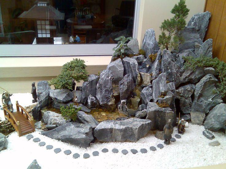 miniature japanese zen garden - Buscar con Google
