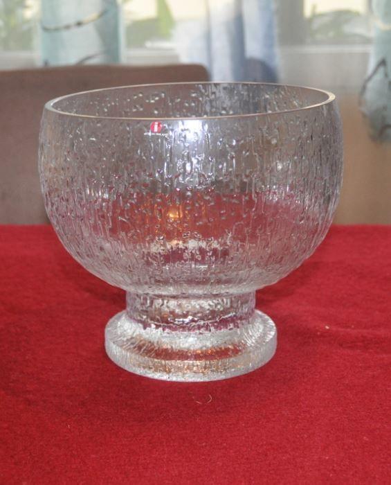 """Big """"Kekkerit"""" bowl by Timo Sarpaneva for Iittala."""