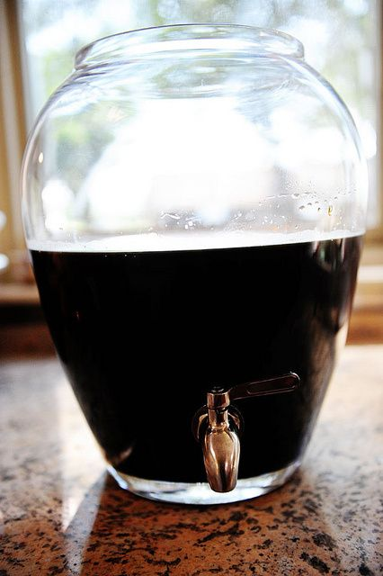 recipe for making coffee concentrate for iced coffee drinks
