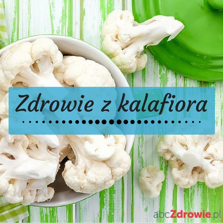 Kalafior to smaczne warzywo, które znalazło się na liście dwudziestu najbardziej wartościowych warzyw, czyli takich, które wyróżniają się dużą zawartością witamin, minerałów i antyoksydantów oraz małą kalorycznością.  #kalafior #warzywa #zdrowie #dieta #smaczne #healthy #vegetables #vegies #diet #cauliflower #abcZdrowie