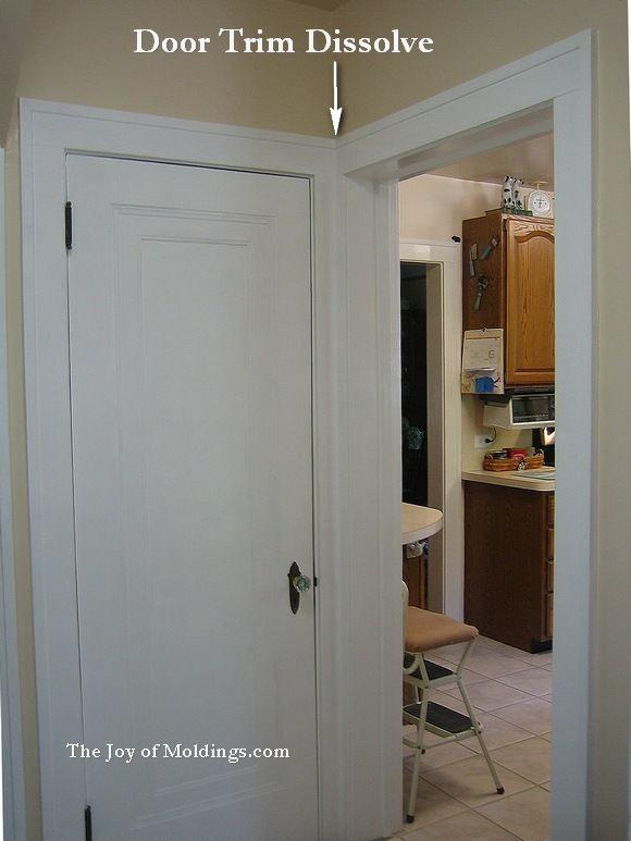 25 b sta door casing id erna p pinterest socklar - Craftsman style interior trim details ...