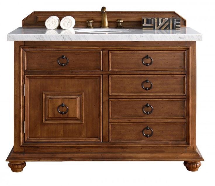 Picture Gallery For Website  inch Single Sink Bathroom Vanity Cinnamon Finish Optional Countertop