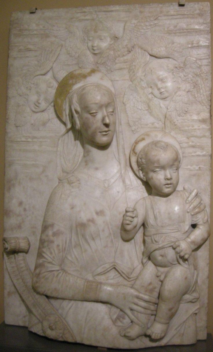 Domenico rosselli, madonna col bambino, 1475-95.
