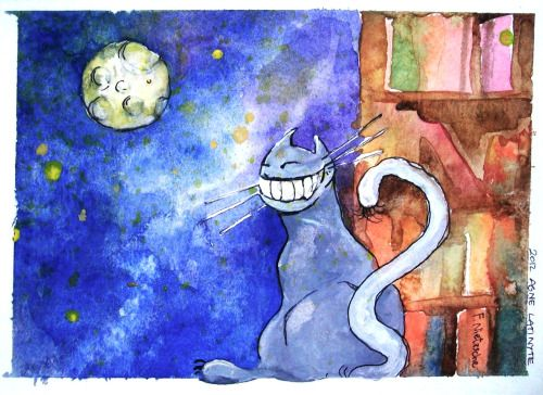 Living like a cat means having such a fabulous life that big shiny smile never leaves your face.