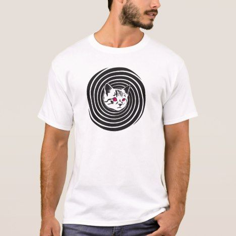Hypno-Cat T-Shirt #cat #cats #kitten #catproducts