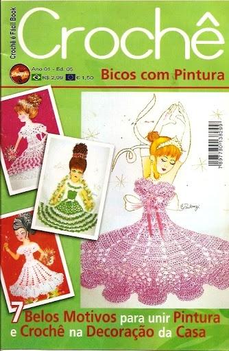 Croche Bicos com Pintura 1 5 - Nenugnoje - Picasa Web Albums: Crochet Ideas, Picasa, Crochet Stuff, Crochet Miscellan, Crochet Books, Picasa Webalbum, Crafty Inspiration, Quaver, Crochet Magazines
