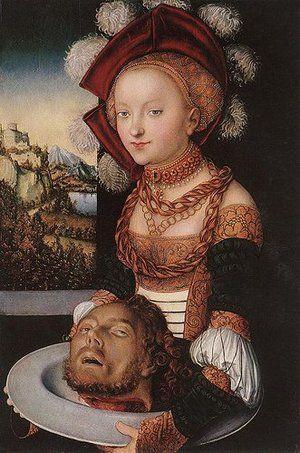 """""""Salome"""" (1530) Cranach"""