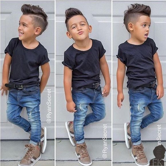 1000 Ideias Sobre Toddler Boys Haircuts No Pinterest
