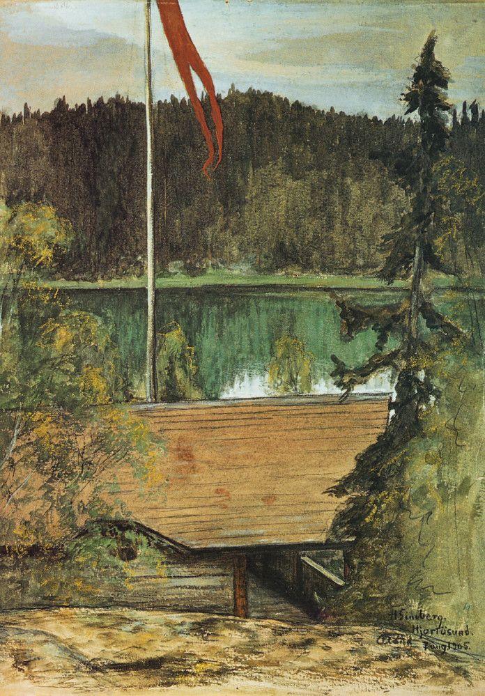 Lasses villa by Hugo Simberg