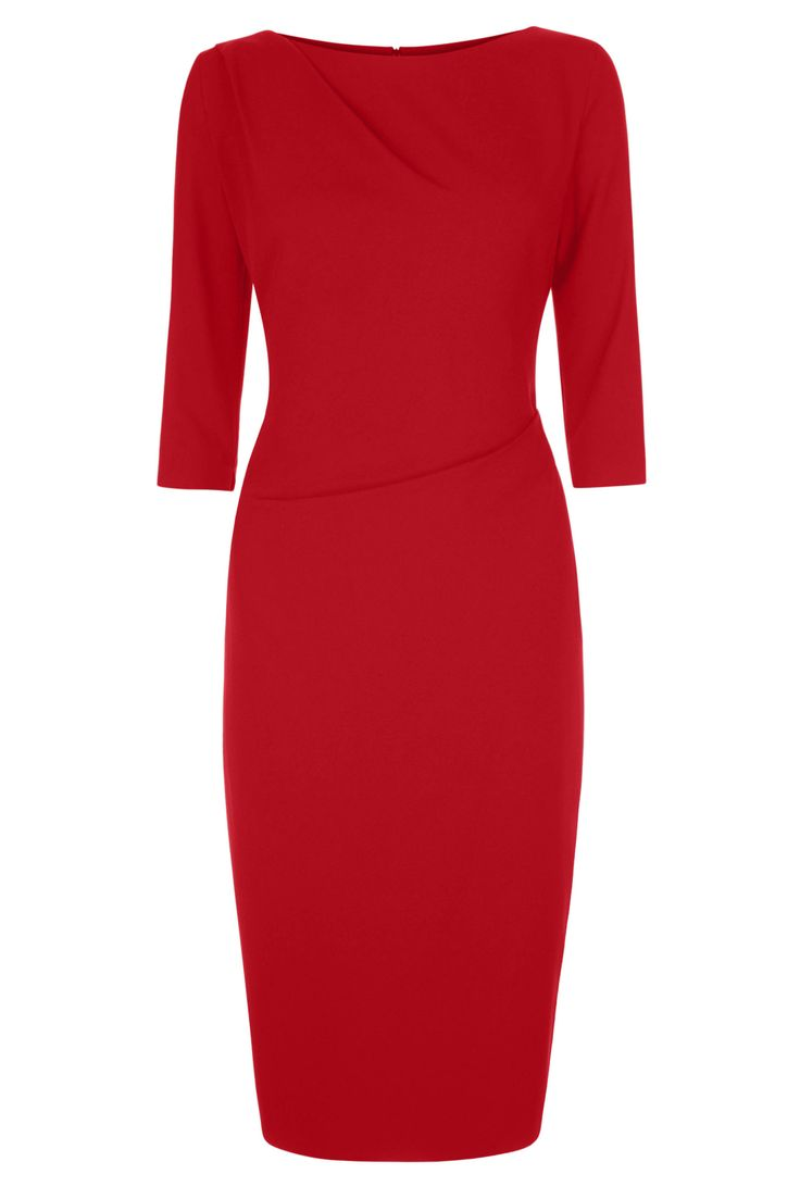 Sloane Dress Poppy Red from Libby London
