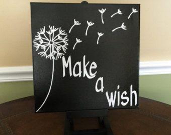 Faire un devis toile de souhait par CraftSavyy sur Etsy