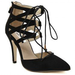 High Lace Shoes