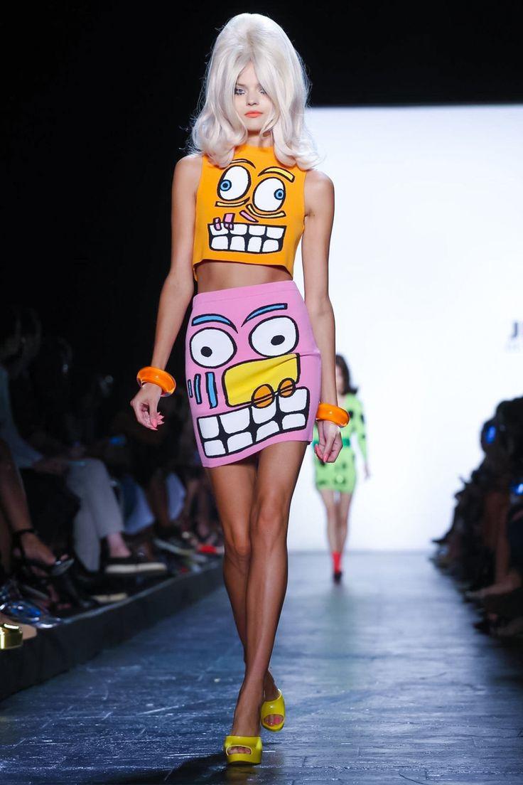 Jeremy Scott Ready To Wear Spring Summer 2016 New York - NOWFASHION