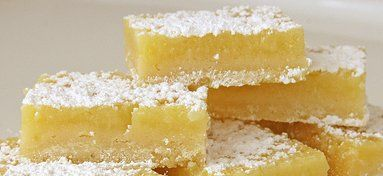 Lemon Bars Deluxe ~ I slightly adapted this recipe from Cook's Illustrated Magazine, May/June 1998. These are absolutely the best lemon bars! I have found that it is hard to find a really good lemon bar recipe, as some have too much crust and not enough filling while others are not lemony enough This recipe is just right.