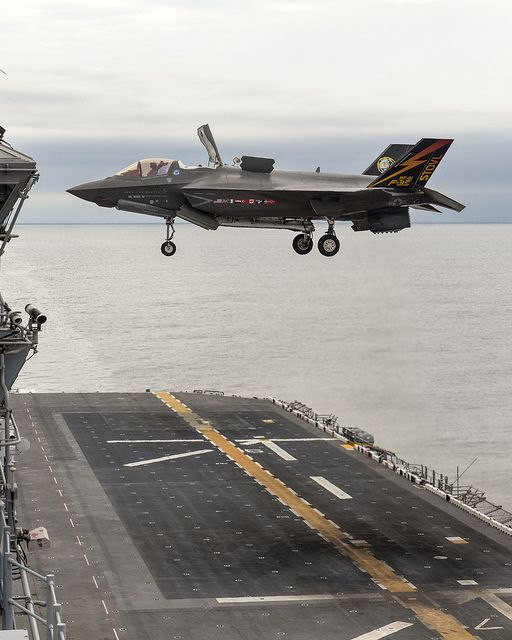 F-35B Vertical Landing at Sea | Flickr - Photo Sharing!