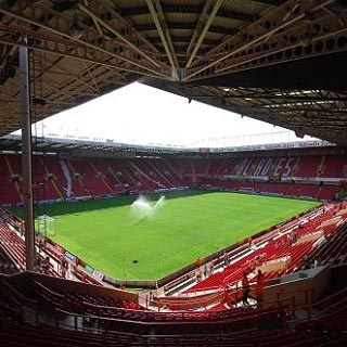 Bramall Lane, Sheffield United, the first place I saw Gillingham win away in League One, won 2-1!
