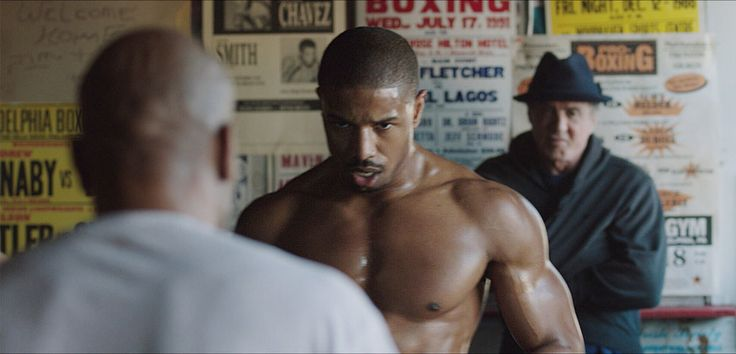 """No. 7 in a series, """"Creed' stars Michael B. Jordan as Sylvester Stallone's protegé. It's a rarity, A.O. Scott writes: """"a terrific boxing movie."""""""