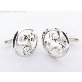 Celtic Triskele Cufflinks