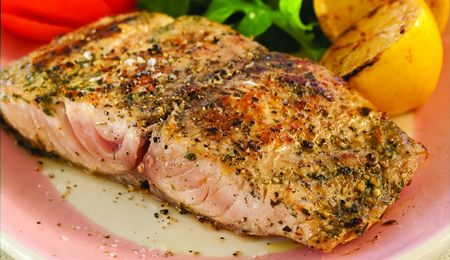 Braaied lemon pepper yellowtail - Cook once...eat twice! #FishForDad #SpoilingDad #Recipe