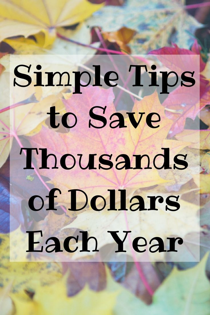Are you wanting to save money this year? Here are some simple things to do around the home to save thousands of dollars in total.