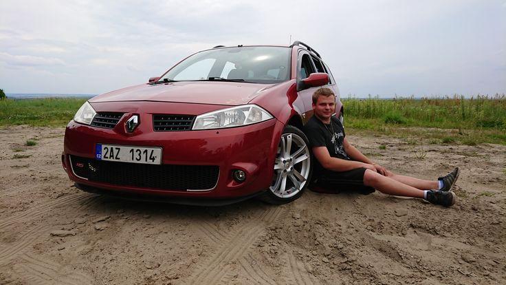 Renault Megane II RS packet
