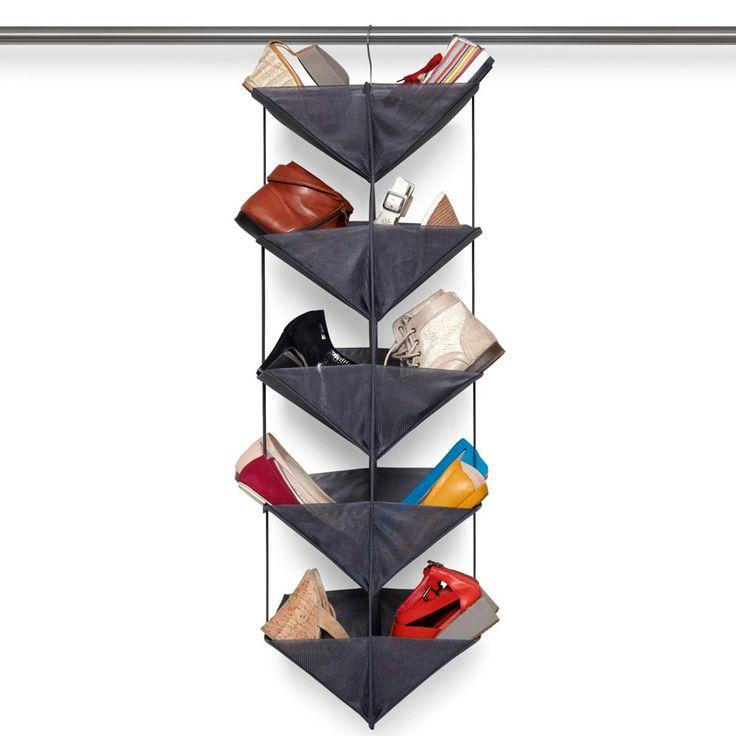 Органайзер для обуви enfold тёмно-серый - Roomble.com