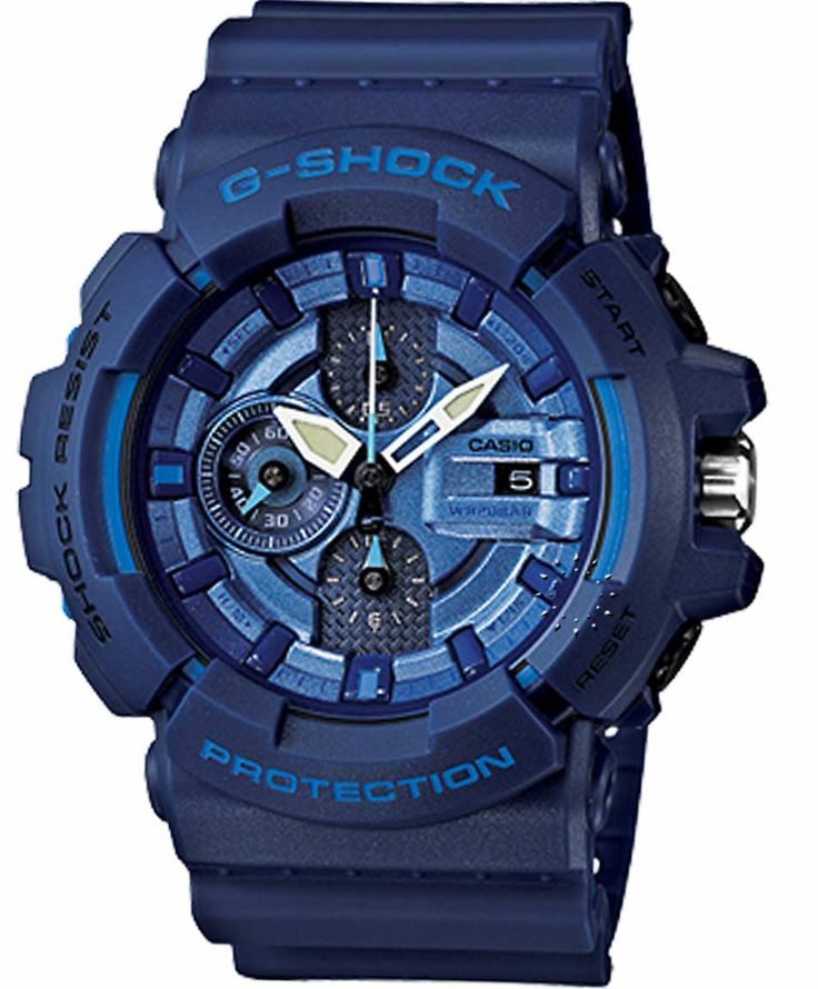 CASIO G-SHOCK Blue Rubber Strap Η τιμή μας: 202€ http://www.oroloi.gr/product_info.php?products_id=36870