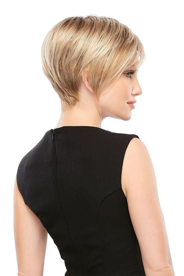 Wigs - This short pixie wig features capless cap construction for comfort throughout the day. This petite wig is a favorite among hair loss wigs for women.