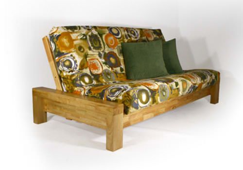Rockwell Natural Queen Futon Frame by Strata Furniture