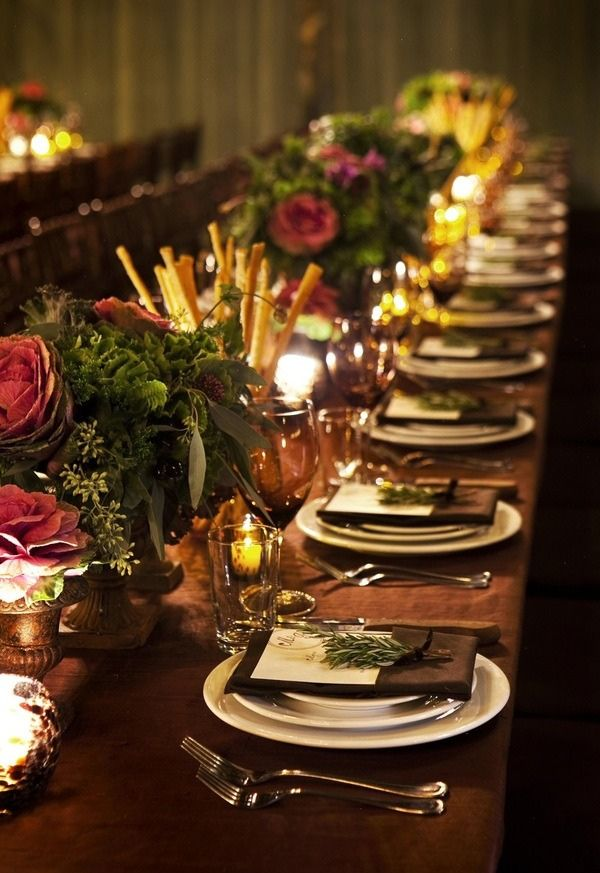 Holiday and Festive Table