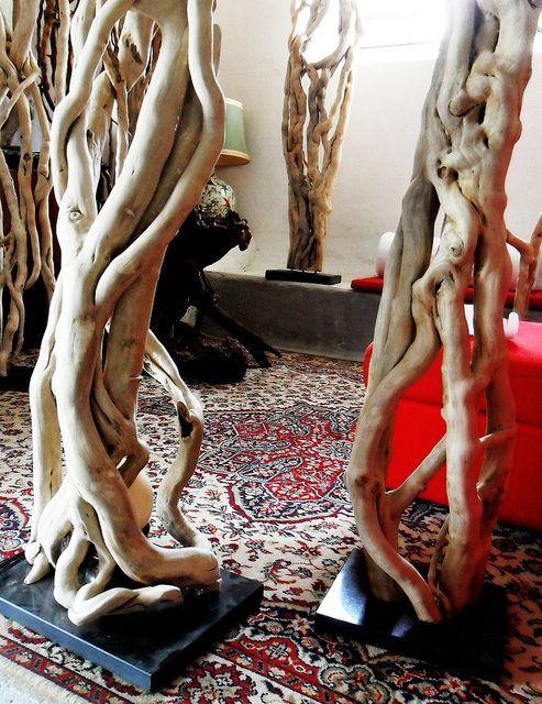 sculture di edera