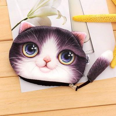 Kitten Cartoon Cat Pattern Decorated 3D Design Purple. Cute and elegance REPIN if you agree. Only 76.5 IDR
