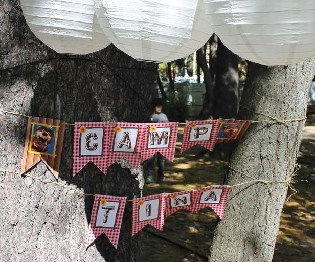 ♣ Etiquetas Yogi Bear Party Labels, Banner Oso Yogi
