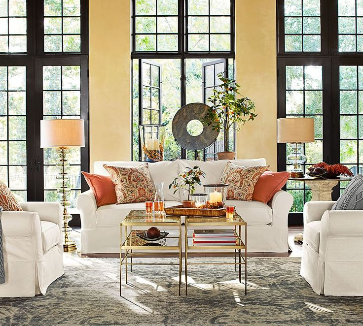 Best 25 warm living rooms ideas on pinterest living - Interior designer discount pottery barn ...