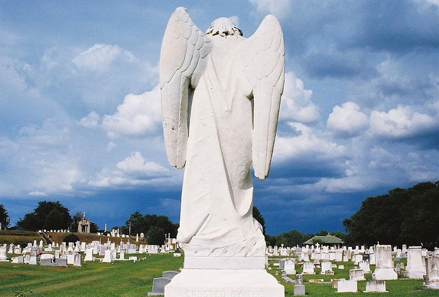 The Turning Angel at the #Natchez City #Cemetery. Come by and take a #tour!  www.visitnatchez.org