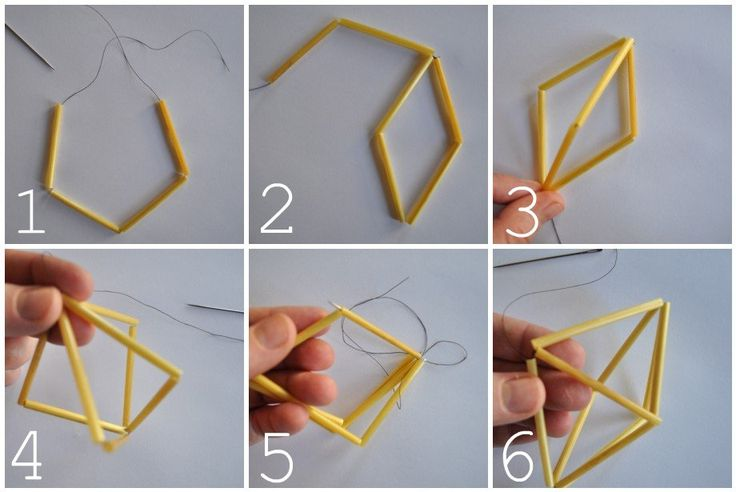 DIY Himmeli- starts simple with this tutorial, but could hook more and more together to make a beautiful, complicated sculpture! With brass tubes instead of the traditional straw?