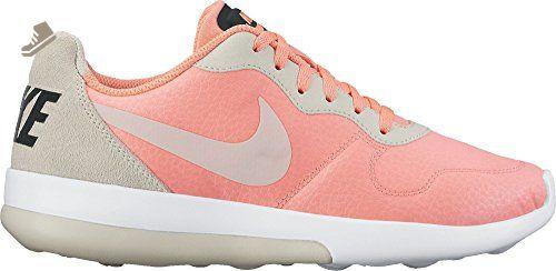 Nike Women's MD Runner 2 LW Lava Glow / Light Bone - Black 844901-602 (7) - Nike sneakers for women (*Amazon Partner-Link)