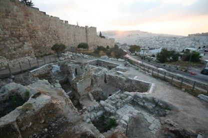 Excavating at Mt. Zion: Jerusalem Dig Uncovers Ancient Mansion