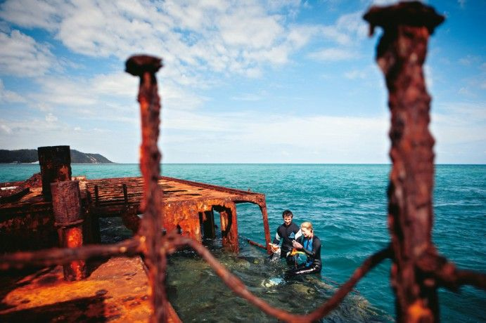 13 of the best shipwreck dives of all time- Tangalooma Wrecks Moreton Island #brisbaneanyday #thisisqueensland