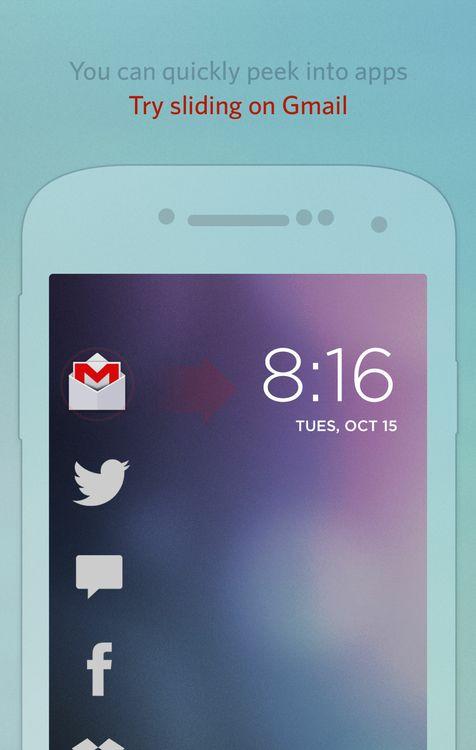 Cover Lock Screen (beta) | Google Play link