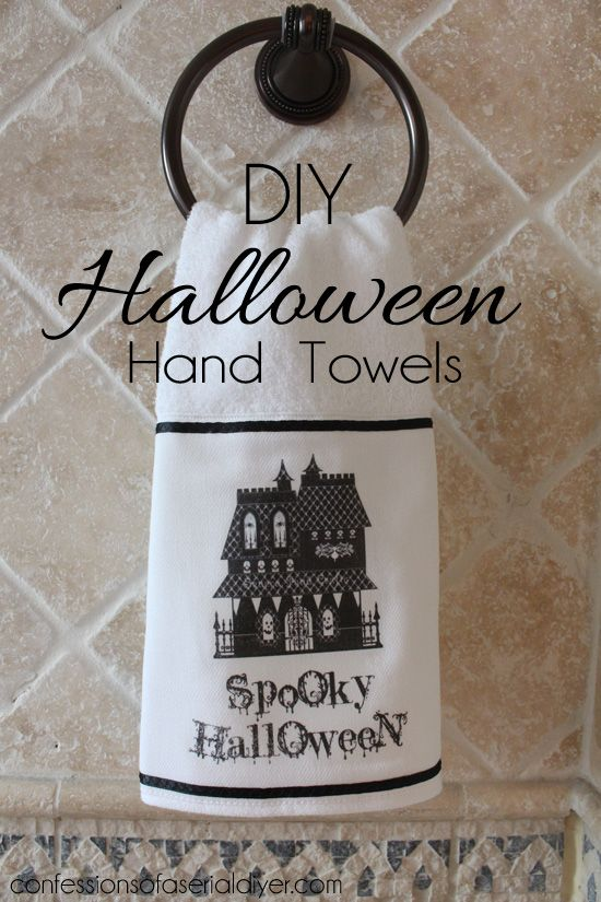 DIY clothing women Towels Hand Halloween s sizes