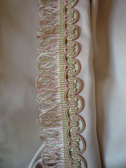 Vintage French curtains