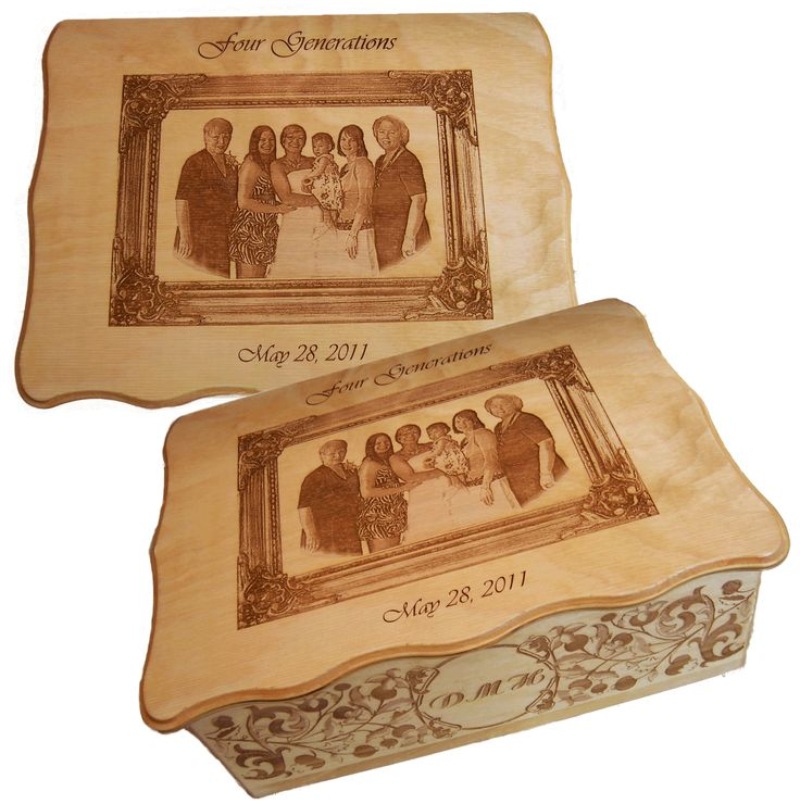 27 Best Images About Personalize Boxes Laser Engraved On
